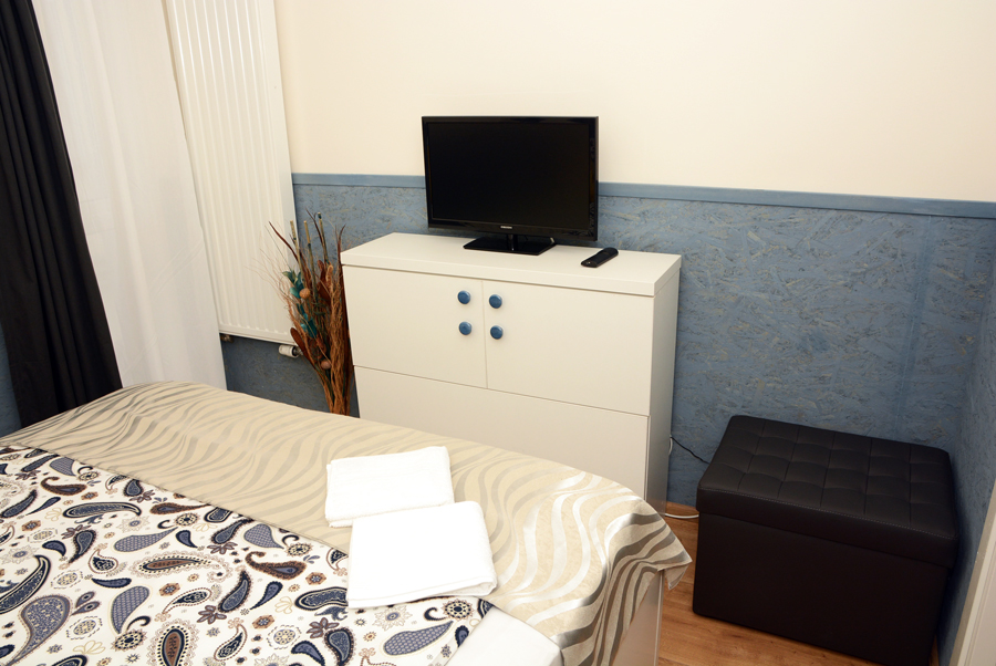 Bedroom serviced apartments cluj Platinia Residence booking.com The Cluj horizon