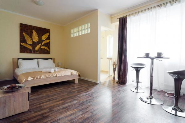 horizon serviced apartment studium green cluj
