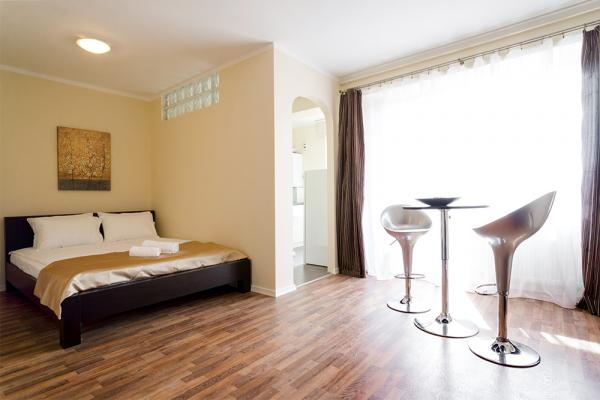 serviced apartment studium green cluj near iulius mall booking.com Cluj